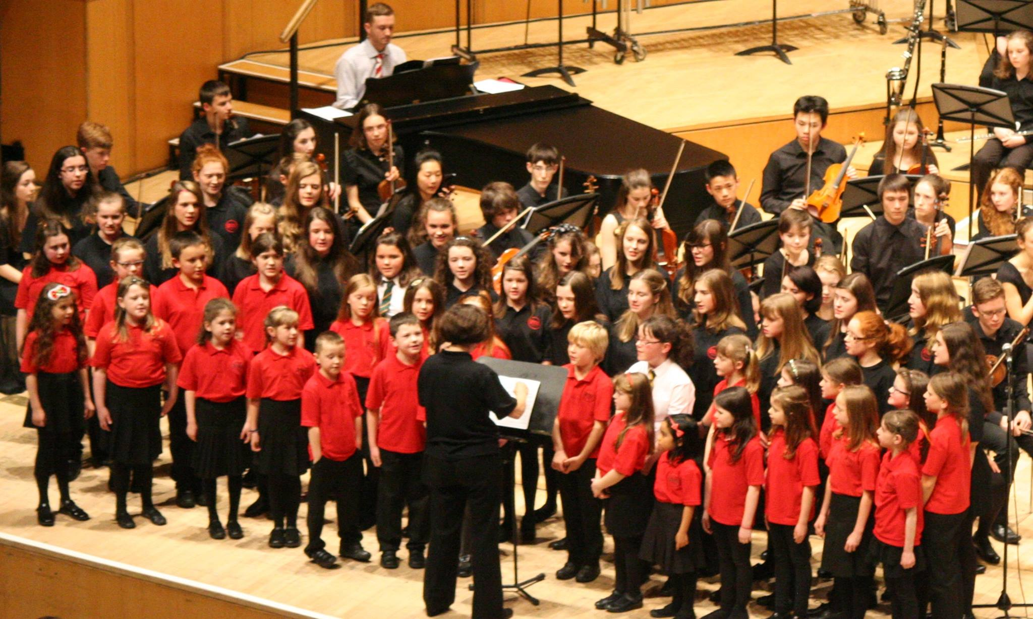 East Dunbartonshire Children's Chorus and Youth Choir